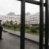 Mit Luftgewehr in russischer Schule um sich geschossen