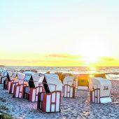 Strandkörbe zum Relaxen