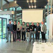 Stefan Delacher holt sich beimGC Lindau den Golftitel