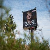 Merkel wirbt für hohe Wahlbeteiligung