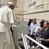 Ungewöhnliche Gabe für den Papst