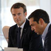Macron setzt sich für Griechen ein