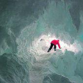 In warmen Höhlen unterm Eis der Antarktis wimmelt es von Leben