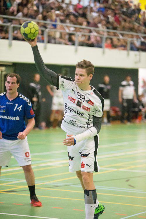 Goalgetter Fabian Füssinger ist einer der Erfolgsgaranten bei Hohenems. VN/Sams
