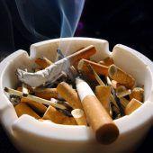 Rauchen, aber passiv
