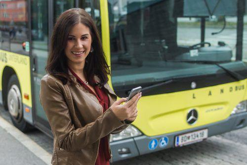 """Die Zukunft des öffentlichen Verkehrs ist """"volldigital"""". VN/Steurer"""