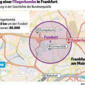 Großevakuierung in Frankfurt