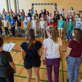 Landeskinderchor ist mit über 80 Mitgliedern wieder aktiv