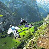 Tödlicher Sprung mit Wingsuit