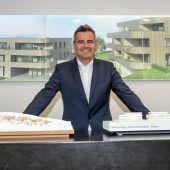 Zima-Inhaber und Vorstand Alexander Nußbaumer zum Boom im Wohnbau, teuren Grundstücken und Fußball D3
