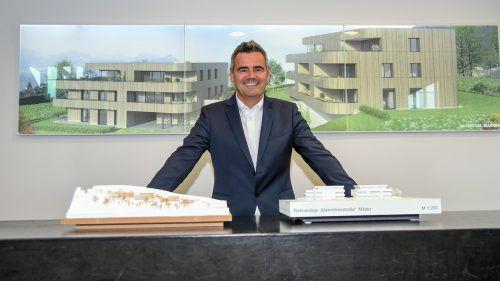 Zima-Chef Alexander Nußbaumer konnte heuer 450 Wohnungen übergeben. Für die Zukunft fordert er von der Politik höhere Baunutzungszahlen.Lerch