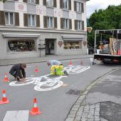 Neue Fahrradstraße