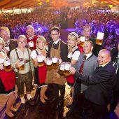 Das stärkste Bierfest im Ländle in Frastanz