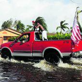 Irma brachte Stürme, Fluten und Chaos