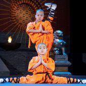 Neue Show der Shaolin