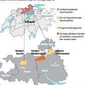 Schweiz sucht Endlager für Atommüll