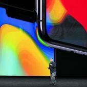 Apple präsentiert neues iPhone X