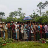 UN fordern mehr Hilfe für Rohingya