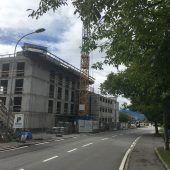 Dachgleiche bei Sulner Vogewosi-Bau