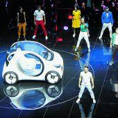 Auf der Messe IAA zeigen Hersteller, wie die Autos der Zukunft aussehen F1–7