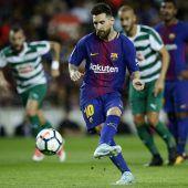 Lionel Messi in Topform