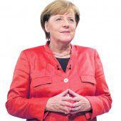 Merkel kann mit Sieg rechnen