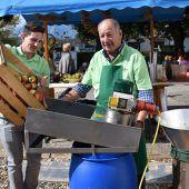 Herbstlicher Dorfmarkt