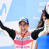 Marquez lacht allein von der Spitze