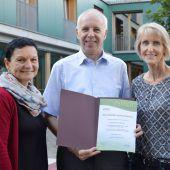 Auszeichnung für das Sozialzentrum Altach