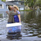 Jacksonville nach Irma weiter unter Wasser