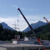 Glockenturm am LKH Rankweil wird saniert