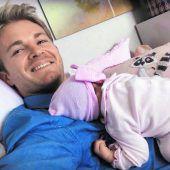 Rosberg wieder Vater und neuer Berater von Kubica