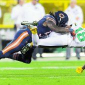 Packers und Bears setzen gemeinsamesZeichen des Protests