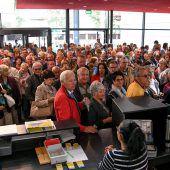 Jahrmarktstimmung auf der Messe