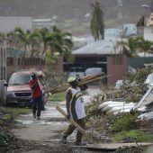 Florida räumt nach Irma auf