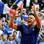 Frankreich im Finale gegen Belgien