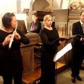 Gerda Poppa war Zentralfigur eines vielfältigen Basilika-Abends
