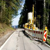 Sperre wegen Straßensanierung