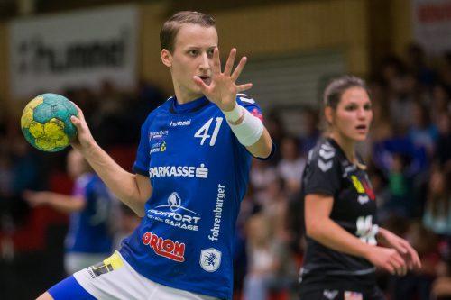 Feldkirchs Laura Seipelt hält bei 20 Saisontreffern.steurer