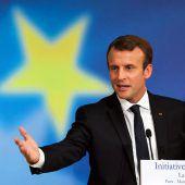 Macron schwebt umfassende EU-Reform vor