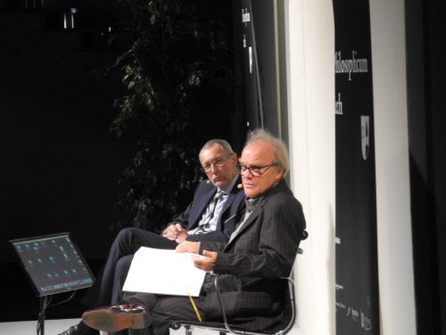 Michael Köhlmeier liest am 30. August bei Russmedia in Schwarzach und tritt mit Konrad Paul Liessmann wieder beim Philosophicum auf. VN