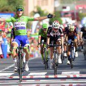 Dritter Etappensieg für Trentin bei Vuelta