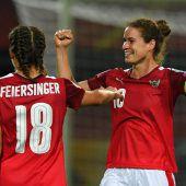 ÖFB-Frauen starten mit Sieg