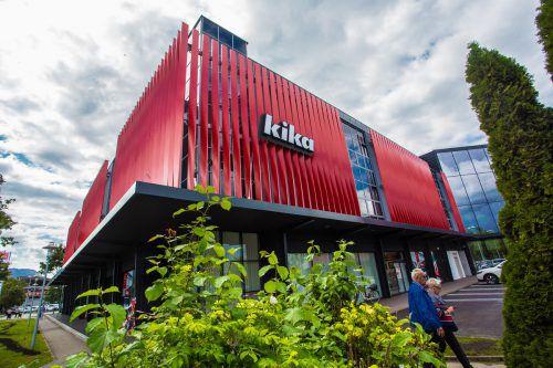Die einzige Kika-Leiner-Filiale im Land wurde 2017 komplett erneuert.VN/PS