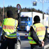 EU-Vorstoß für längere Grenzkontrollen