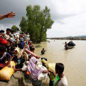 270.000 Rohingya auf der Flucht nach Bangladesch