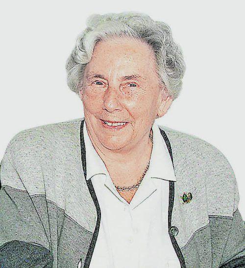 Rosa Russ war dem Russ-Preis wie eine Schirmherrin engstens verbunden.