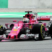 Vettel und Ferrari spielten sich
