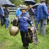 Dornbirner Älpler trotzten dem Regen