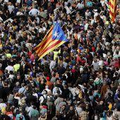 Massenproteste nach Festnahmen in Barcelona